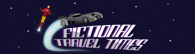 Fictional Travel Times